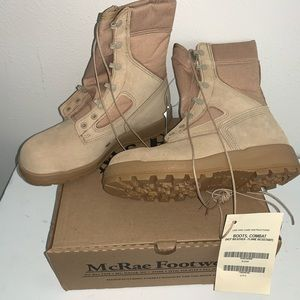 McRae HOT WEATHER FLAME RESISTANT COMBAT BOOTS